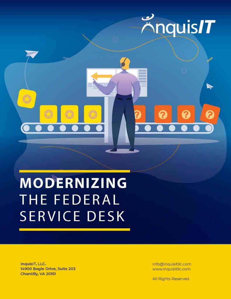 Modernizing the Federal Service Desk