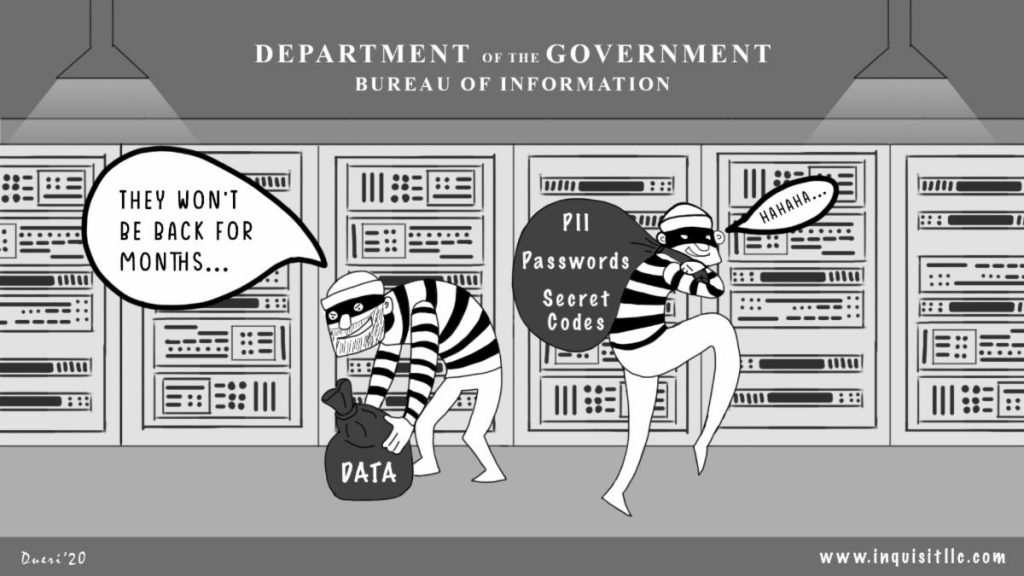 Data Thieves - Cybersecurity for Federal agencies