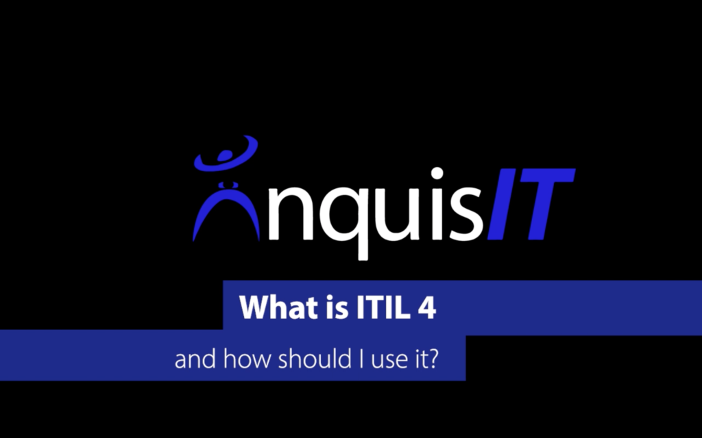 What is ITIL 4 and how does it work