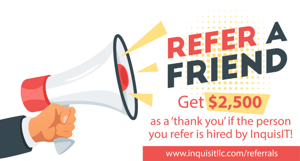 Referral to InquisiT - Recruiting, referrals, candidates