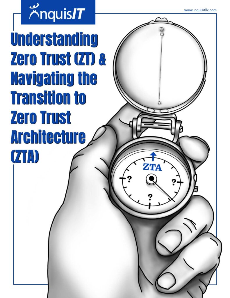 White Paper - Understanding Zero Trust and Navigating the Transition to Zero Trust Architecture_Page_1